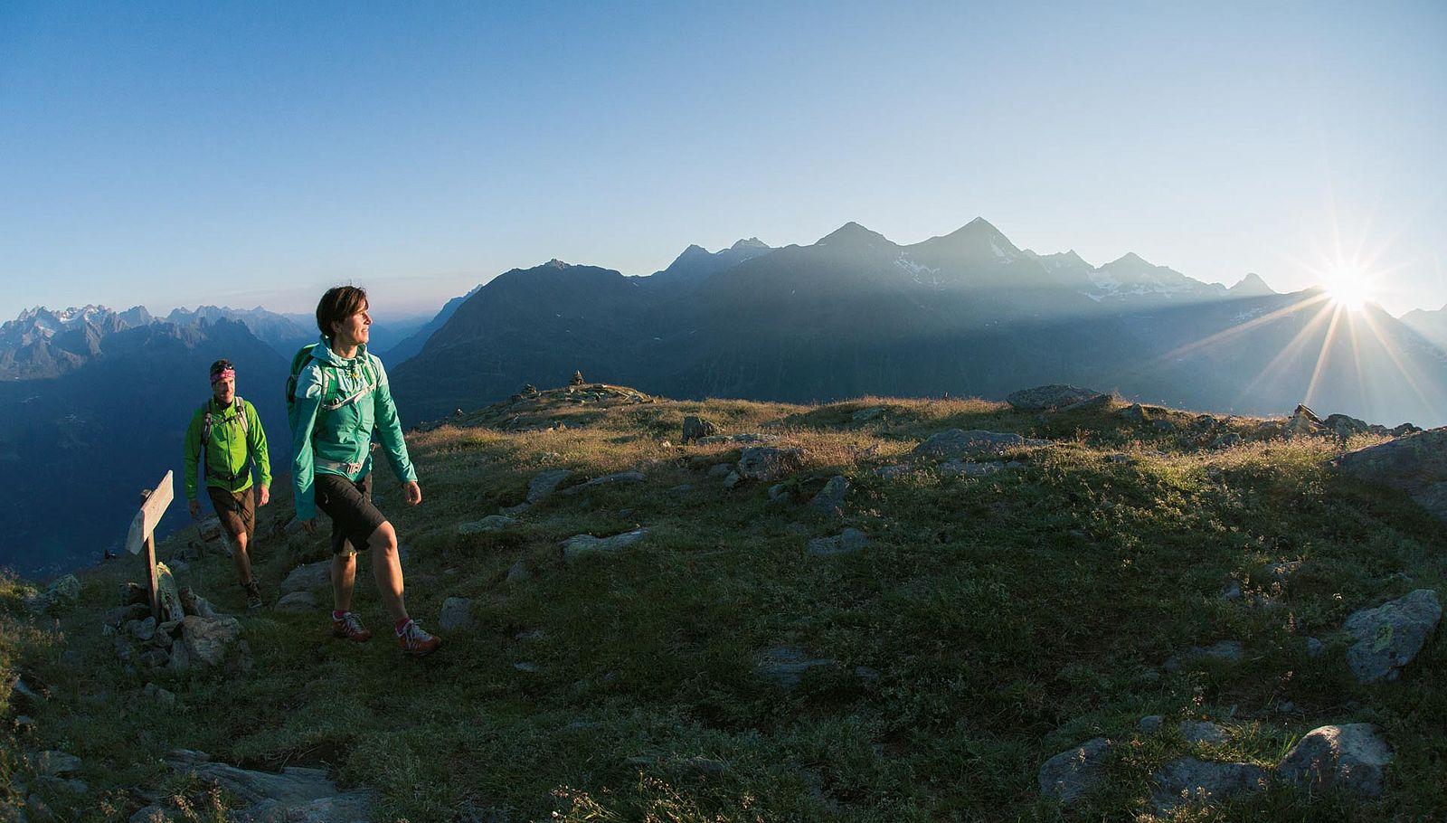 Werden Sie Spitzenreiter – beim Wandern in Sölden