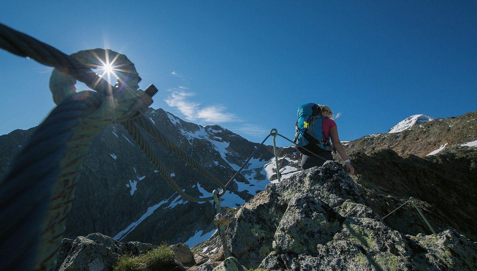 Wandern in Sölden: von Gipfeltour bis Hüttenjause