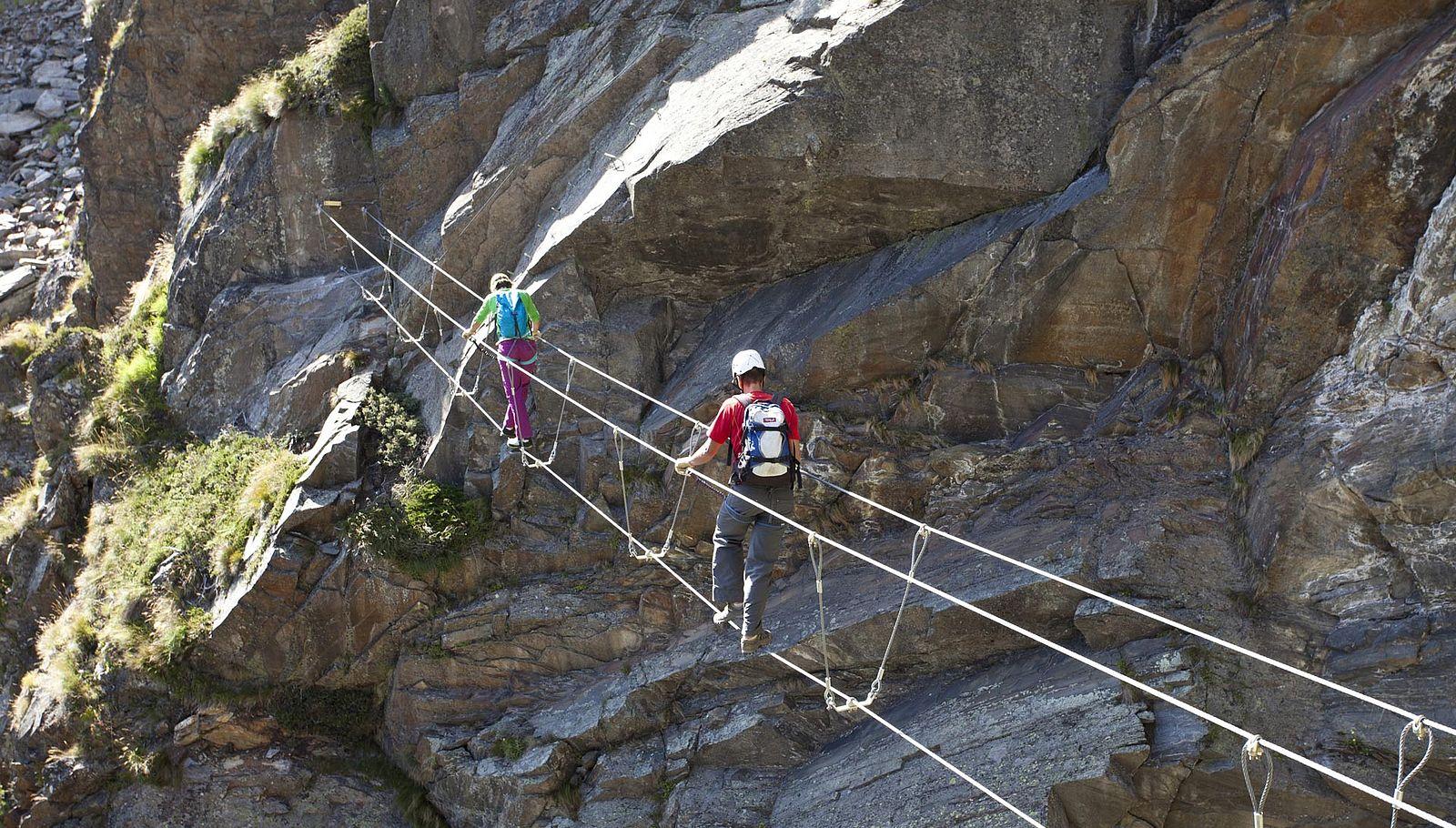 Klettersteig Oetztal : Klettersteig Ötztal :: klettern in sölden im