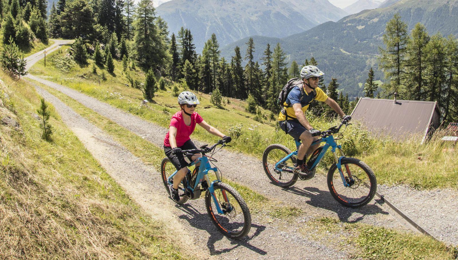 E-Bike: perfekter Untersatz für Abenteuer.