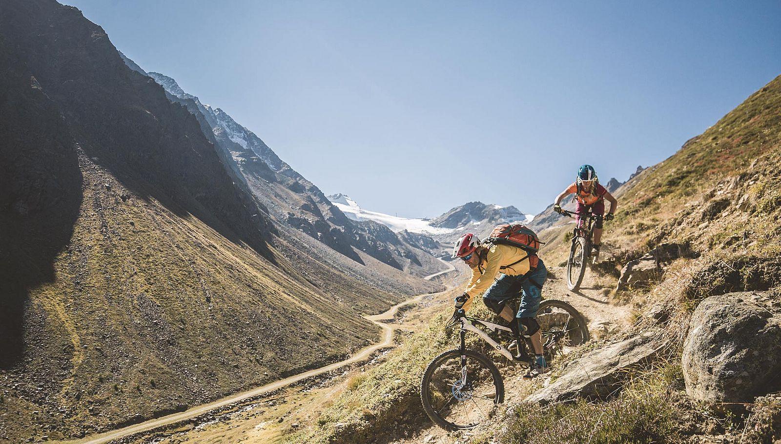 Sölden: top Destination für Biker