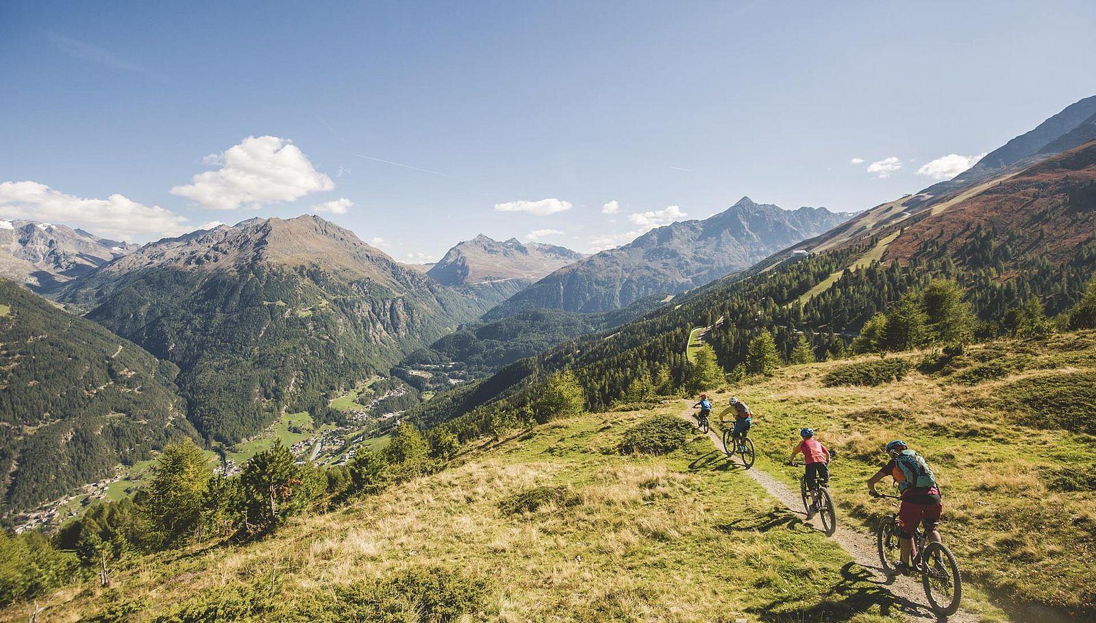 Deine Herausforderung: Mountainbike